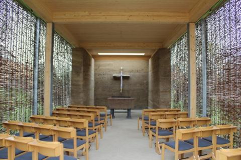 Der Kirchenpavillion, Landesgartenschau Gelände Zülpich