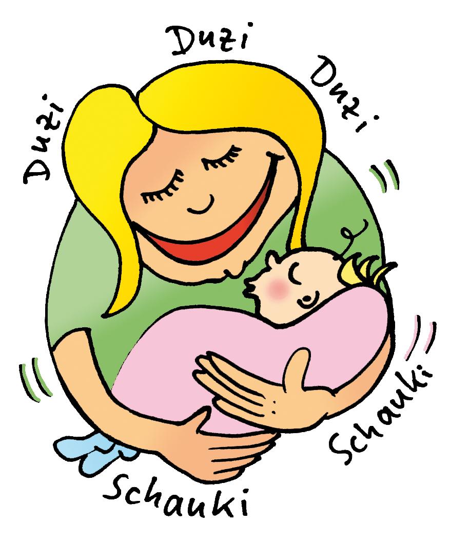 Babyenergie fühlt ein und lernt uns zu lächeln