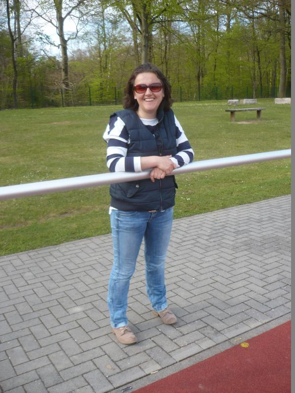 Selten zu Gast:  Annekathrin Kummer