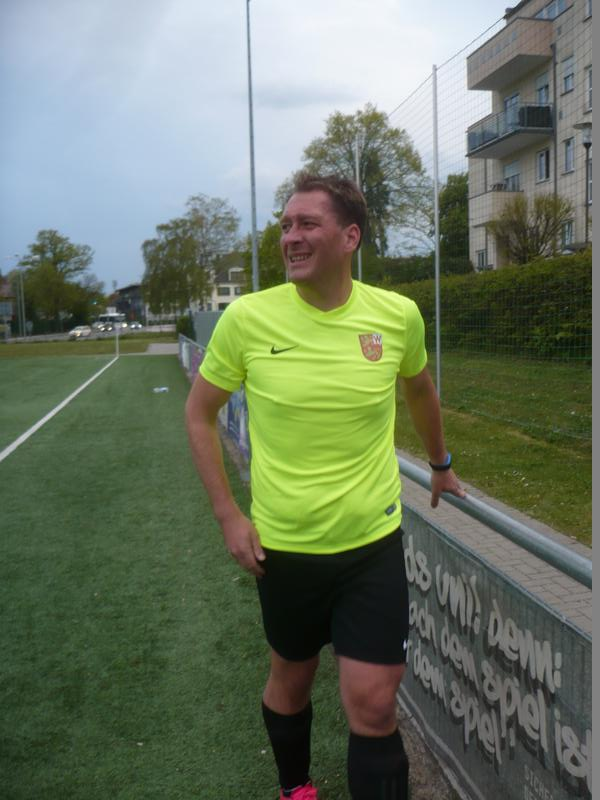 Musste früh verletzt raus: Andreas Müller