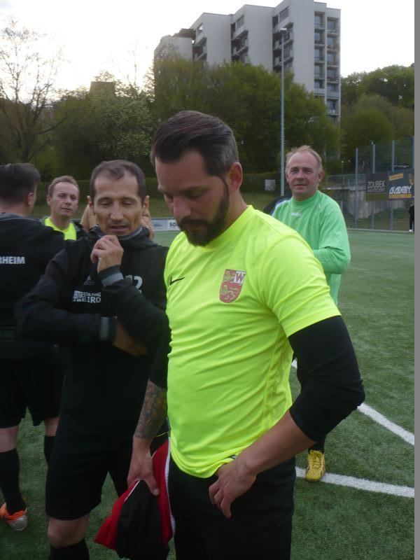 War heute mit dem Spiel nicht zufrieden: Dennis Wehrheim