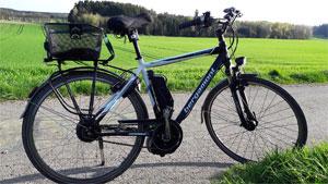 Trekking E-Bikes haben einen Marktanteil von 35,5%