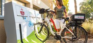 Bessere Rahmenbedingungen führen dazu, dass mehr Menschen auf das Fahrrad umsteigen und weniger Fahrten mit dem Pkw machen. Bild: Rheinhessen Touristik GmbH