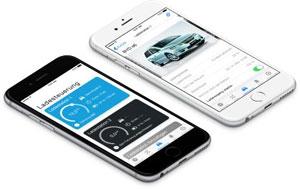 Die Ladesteuerung ist für alle gängigen Elektro-Autos geeignet. Vor dem Ladevorgang wird per App der entsprechende Fahrzeugtyp ausgewählt.