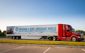 Toyota hat die Reichweite des Brennstoffzellen-Lkw um 161 Kilometer gesteigert