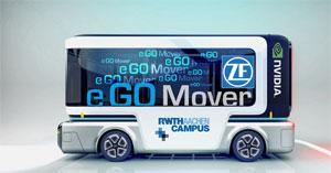 Der e.GO Mover soll ein Mobilitätskonzept für Städte auf Basis von autonomen Fahrzeugen ermöglichen