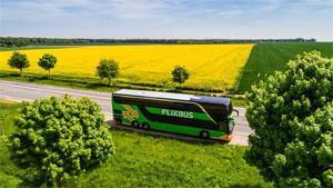 FlixBus sieht den ersten Elektro-Fernbus als Signal an die Bushersteller, Innovationen voranzutreiben und Alternativen zum reinen Diesel-Antrieb zu entwickeln