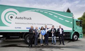 Eine Demonstration der autonomen Fahrfunktionen soll am Ende der Projektlaufzeit im Herbst 2019 erfolgen