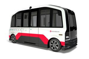 So wird der autonome Elektro-Kleinbus des Projekts HEAT aussehen.