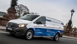 Elektrische Transporter von Mercedes-Benz Vans: eVito macht den Auftakt 2018