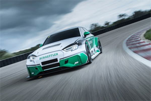 """Den """"Schaeffler 4ePerformance"""" treiben gleich vier Formel-E-Antriebe mit jeweils 220 kW an"""