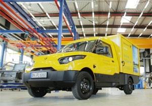 Bosch liefert das Antriebssystem für die Streetscooter der Deutschen Post. Foto: StreetScooter GmbH