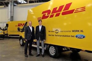 Die Serienproduktion des Elektro-Transporters StreetScooter WORK XL ist bei Ford in Köln angelaufen.