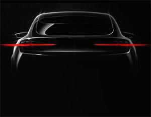 Das batterie-elektrische Auto wurde vom Ford Mustang inspiriert