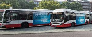 Schon ab 2020 wollen die beiden städtischen Unternehmen HOCHBAHN und VHH ausschließlich emissionsfreie Busse anschaffen