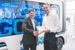 Das verabredete Joint Venture soll Brennstoffzellen-Range Extender für e.GO Mover und den Drittmarkt produzieren.