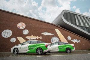 CleverShuttle startet in Stuttgart mit zunächst zehn wasserstoffbetriebenen Toyota Mirai
