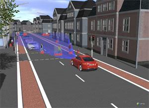 In einem aktuellen Projekt setzen ASAP Experten KI bei einem Prüfszenario ein, in dem ein autonom fahren-des, elektrifiziertes Fahrzeug ein Überholmanöver bei Gegenverkehr durchführen soll.
