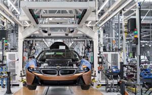 Täglich laufen 130 BMW i-Modelle in Leipzig vom Band