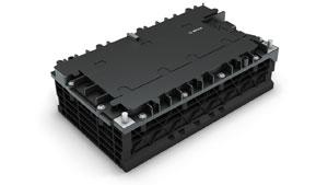 Bosch hat eine standardisierte 48-Volt-Batterie für Hybride entwickelt, die einfach in neue Fahrzeugmodelle integriert werden kann