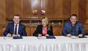SKODA AUTO unterzeichnete eineErklärung zur Entwicklung urbaner Mobilitätsservices.