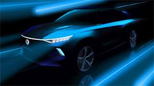 Das vollelektrische Konzeptfahrzeug verbindet Eigenschaften von SUV und Elektroautos