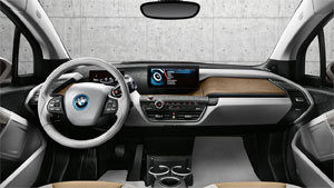 Kunden in der Schweiz das erhalten das Elektroauto BMW i3