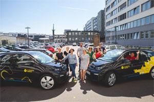 Der Energienabieter Yello hat das 300. Elektro-Auto vom Typ BMW i3 an Kunden übergeben