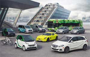 Das kompakte EQ-Modell aus Hambach soll die Elektro-Flotte von Daimler erweitern