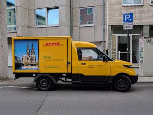 """""""Jürgen Gerdes … hat die Entwicklung des StreetScooter zu einem Zeitpunkt angestoßen, da E-Mobilität in Deutschland noch nicht in aller Munde war"""", sagte Frank Appel, Vorstandsvorsitzender Deutsche Post DHL Group."""