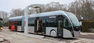 Elektro-Bus in Hamburg