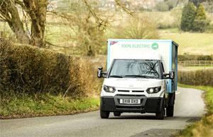 Der britische Milchlieferant Milk & More hat 200 Elektrofahrzeuge geordert, die vom Post-Tochterunternehmen StreetScooter produziert und ab sofort auf der Insel eingesetzt werden