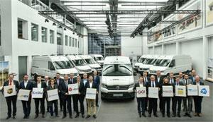 Großkunden aus Deutschland, Großbritannien, den Niederlanden und Schweden unterziehen den Elektro-Transporter dem Praxistest