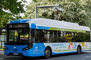Elektrobus der Stadtwerke Münster. Bild: Stadtwerke Münster