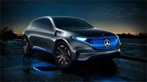 Daimler will auch mit Elektro-Fahrzeugen der Marke EQ auf die gestiegene Marktnachfrage reagieren