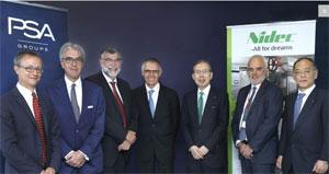 Das Joint Venture soll elektrische Traktionsmotoren für MHEV, EV und PHEV produzieren