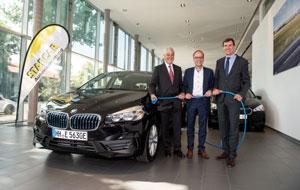100 Hybridfahrzeuge der BMW Group werden Teil der Autoflotte von STARCAR.