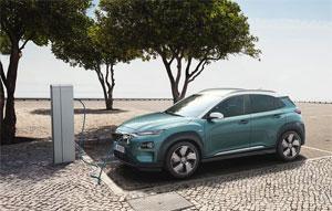 Hyundai bietet den Kona Elektro in zwei Leistungsstufen und in drei Ausstattungslinien an