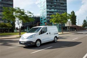 Der Elektro-Transporter Nissan e-NV200 kann laut Hersteller mit einer Batterieladung Strecken von bis zu 280 Kilometern zurücklegen