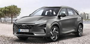 Hyundai bringt mit dem Kompakt-SUV Nexo sein zweites Serienfahrzeug mit Brennstoffzellenantrieb auf den Markt