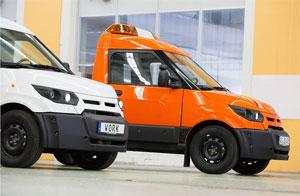 Die Elektro-Transporter WORK und WORK L werden ab sofort auch über Ford Transit-Center verkauft