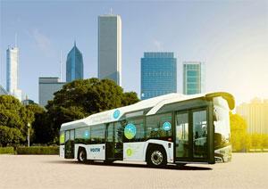 Voith e Bus System - Voith stellt sein neues Antriebssystem für rein elektrisch betriebene Busse vor. Das System besteht aus einem elektrischen Antriebsstrang mit intelligentem, digitalem Flottenmanagement.