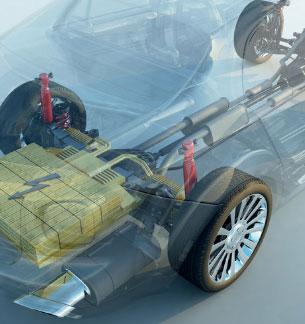 Der GreenGuide informiert auch über mobile Speicher in Elektro-Fahrzeugen