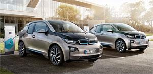 Das Energiespeichersystem besteht aus Batterien, wie sie auch im Elektroauto BMW i3 eingesetzt werden.