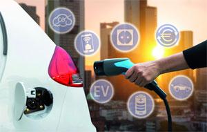 Die Kombination aus Photovoltaik und Elektromobilität spielt vor allem bei den Vorträgen der Intersolar Europe und Power2Drive Europe Conference eine tragende Rolle