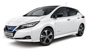 Mit erneuerbarem Strom rechnet sich ein E-Auto der Komapaktklasse beim Vergleich der CO2-Bilanz schon nach 14.000 Kilometern gegenüber dem Hybrid und nach 25.000 Kilometern im Vergleich zum Diesel. Foto: Nissan
