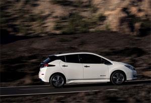 Der neue Nissan LEAF ist im ersten Halbjahr in Europa das meistverkaufte rein batteriebetriebene Fahrzeug.
