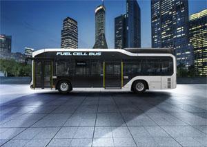Im Sora arbeitet das aus der Brennstoffzellen-Limousine Toyota Mirai bekannte Antriebssystem in doppelter Ausführung