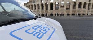 Auch in den italienischen Städten Florenz, Mailand, Rom und Turin nutzen deutsche Kunden immer häufiger car2go