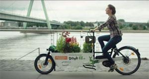 Jedes Elektro-Lastenrad von Donk-EE hat eine Reichweite von bis zu 75 Kilometern.